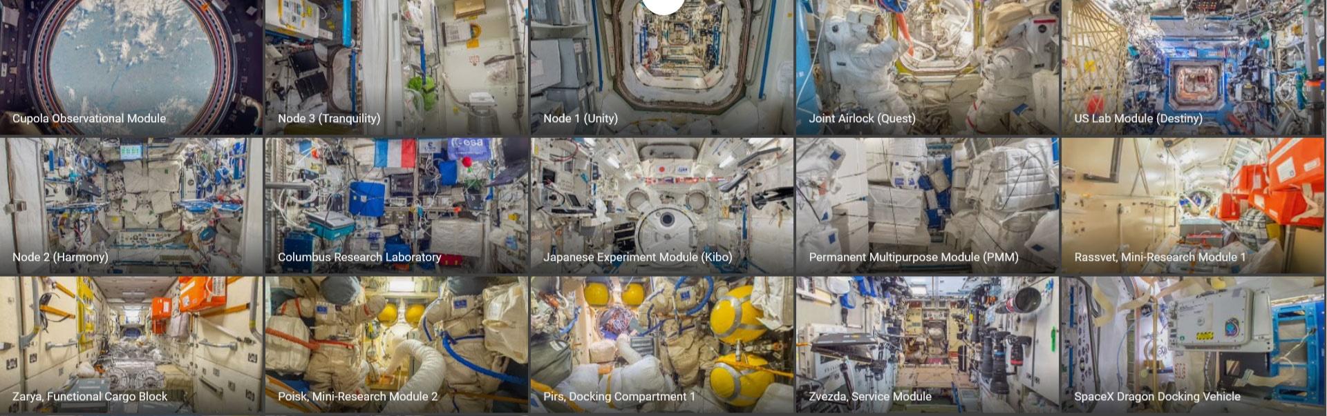 با گوگل استریت ویو درون و بیرون ایستگاه فضایی بینالمللی را ببینید/ کلیک