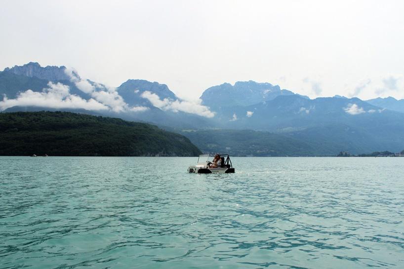 تصاویر   خودرویی برای عاشقان قایقسواری!