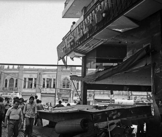 تصاویر | یکم مرداد ۱۳۵۹؛ انفجار سه بمب در کوچه برلن تهران