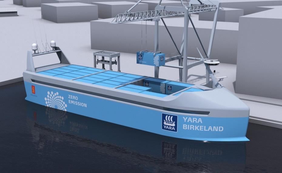 کشتی خودرانِ بدون خدمه ۲۵ میلیون دلاری در جنوب نروژ / عکس