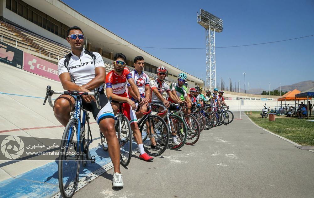 تصاویر | مراسم یادبود دوچرخهسوار تیم ملی بانوان که در سانحه تصادف درگذشت