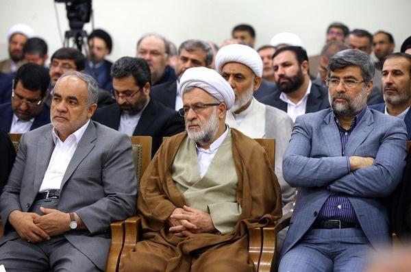 تصاویر | دیدار رئیس و مسئولان قوه قضائیه با رهبر انقلاب