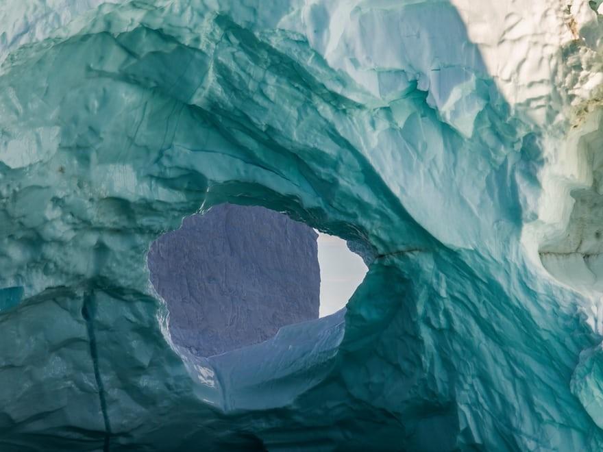 تصاویر | وداع قطب شمال با چشمانداز سفید و کوههای یخی