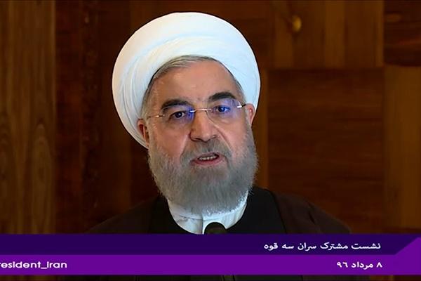 فیلم | روحانی: آمریکاییها بیشترین خسارت را از اقداماتشان میبینند