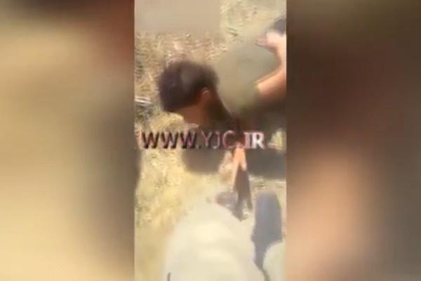فیلم | مجازات تروریستهای پکک توسط مرزبانان ترکیه