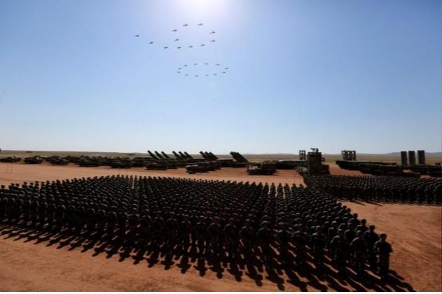 تصاویر | رژه ۱۲ هزار نفری در نودمین سالگرد تشکیل ارتش آزادیبخش خلق چین