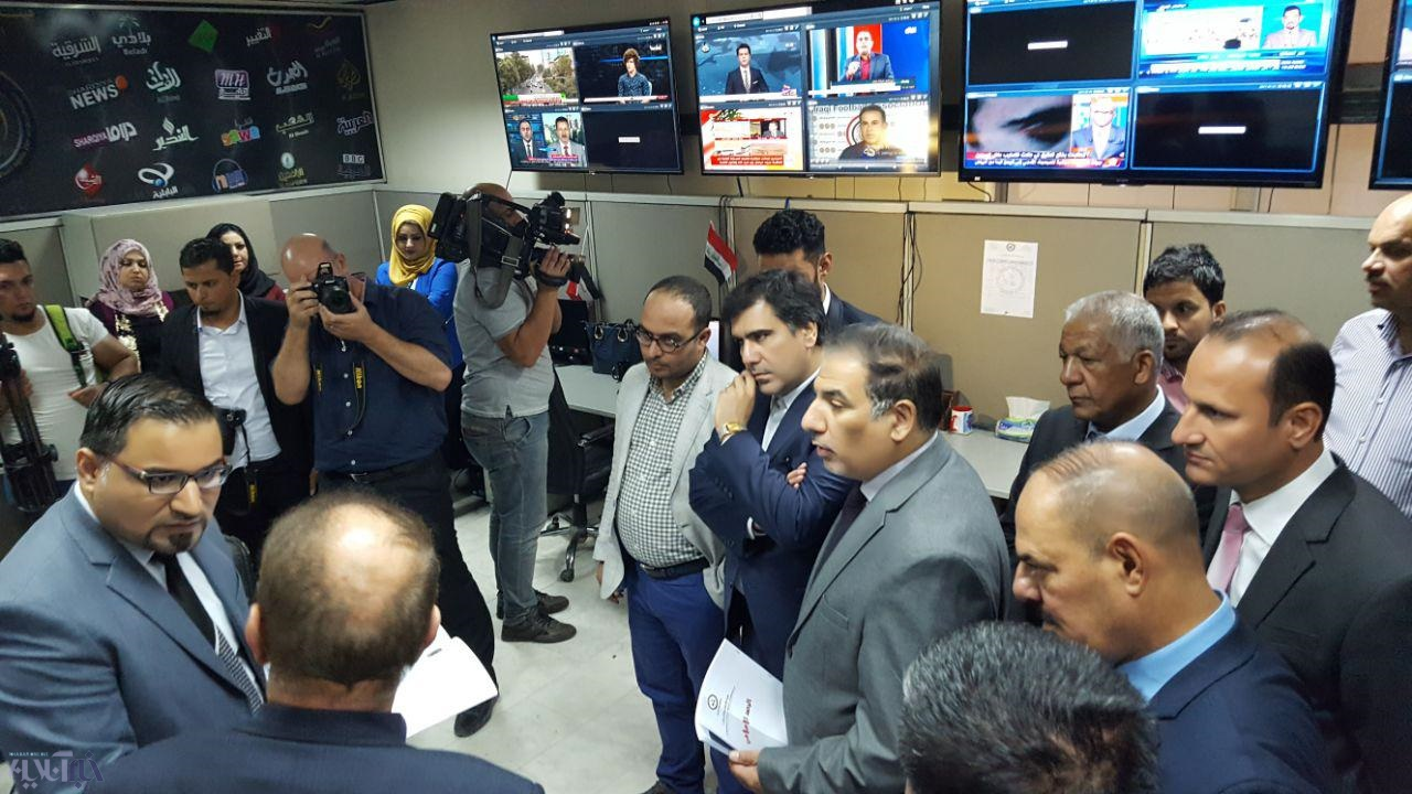 تصاویر | دیدار هیات رسانهای ایران با حیدر العبادى و شورای اتحادیه خبرنگاران عراق
