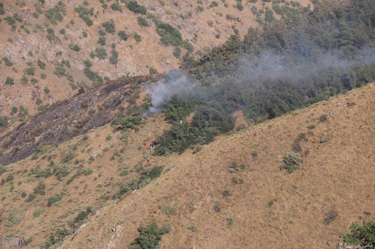 مهار آتشسوزی جنگلهای مارمیشو ارومیه