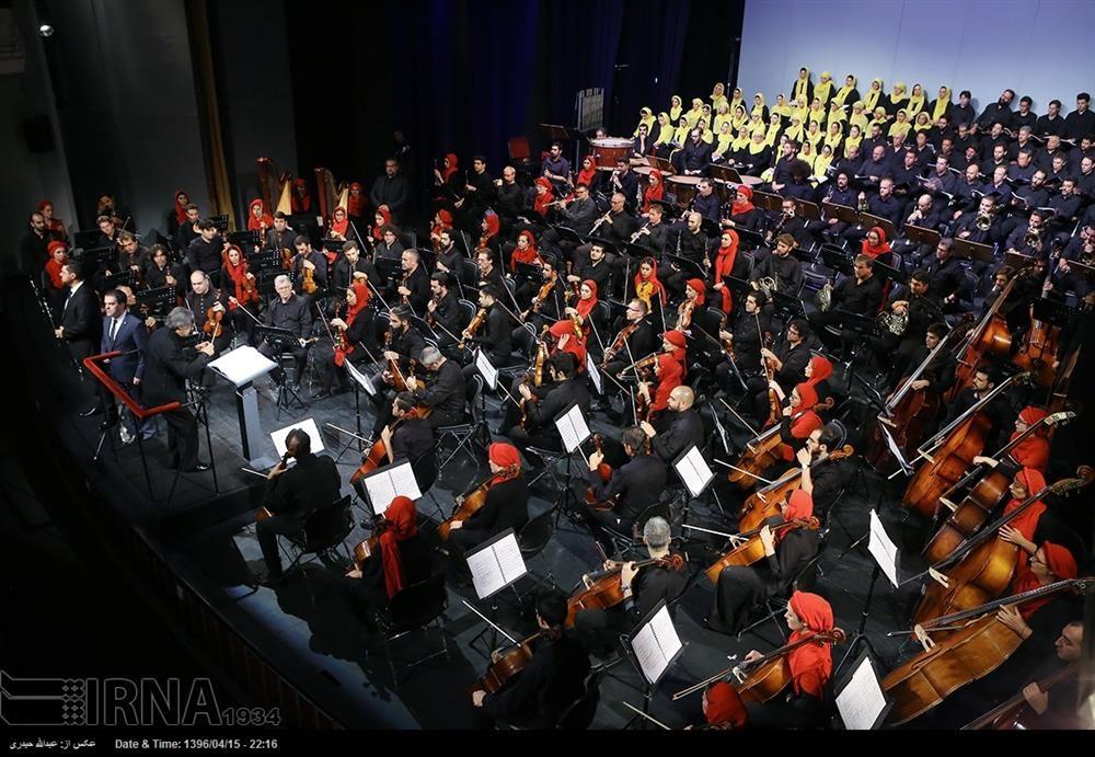 تصاویر| همنوازی نوازندگان ایرانی و ایتالیایی در تالار وحدت