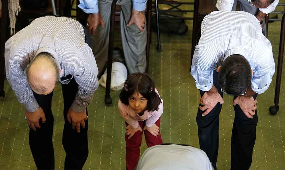 تصاویر | حال و هوای کودکانه در نماز جمعه