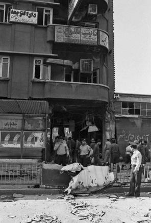 تصاویر | ۳۱ سال قبل؛ بمبگذاری در قهوهخانه میدان انقلاب