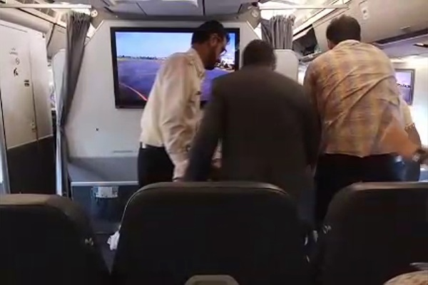 فیلم   مرگ یک مسافر در پرواز مسکو به تهران
