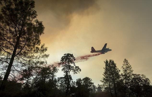 تصاویر   آتشسوزی غیرقابل مهار کالیفرنیا