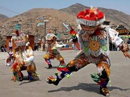 رقص قیچی سرخپوستان کشور پرو