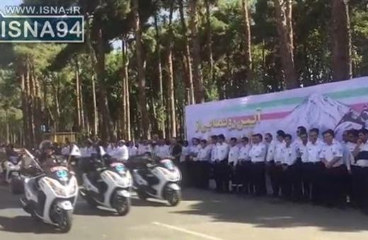 فیلم | رژه ۲۰۰ موتورلانس جدید در تهران