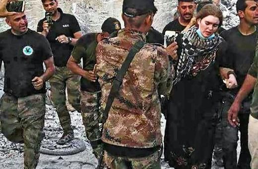 دختر آلمانی 16 ساله عضو داعش؛ «فقط میخواهم به خانه بروم»