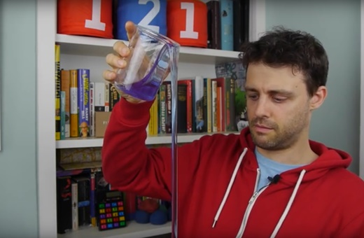 مایعی که خودش جاری میشود!/فیلمی از یک پدیده جالب شیمی