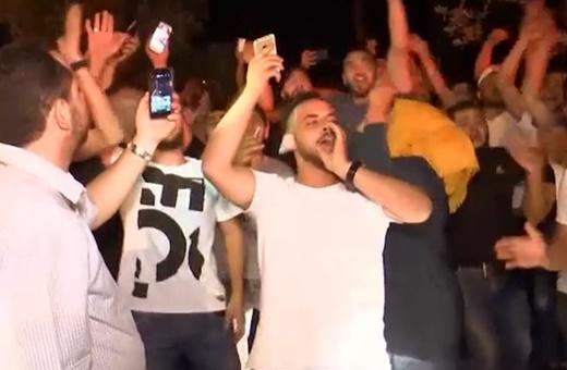 فیلم | جشن فلسطینیها در بیتالمقدس در پی اقدام رژیم صهیونیستی