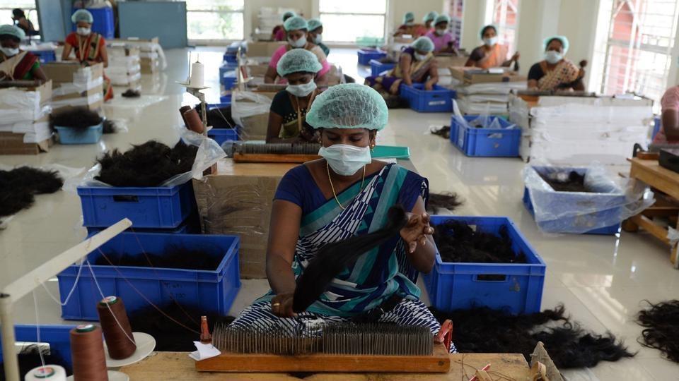 تصاویر | تجارت پرسود مو در هند