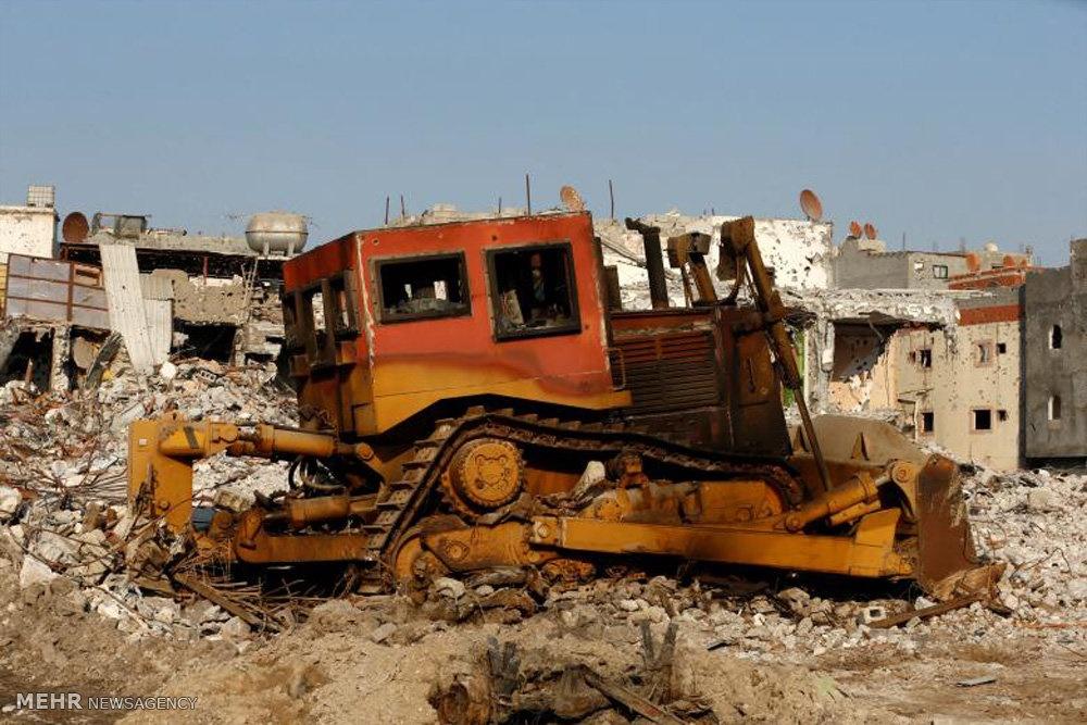 تصاویر | حمله رژیم سعودی به شهر شیعهنشین عوامیه
