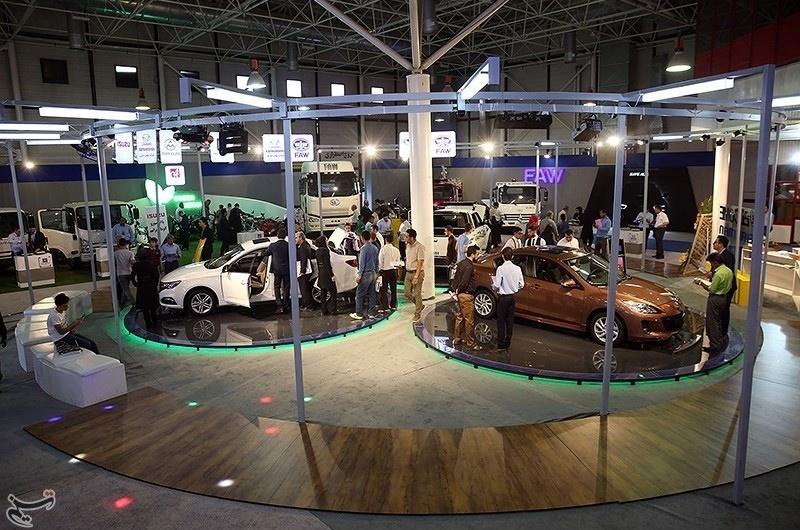 تصاویر | هفدهمین نمایشگاه خودروی مشهد با استاندارد بینالمللی