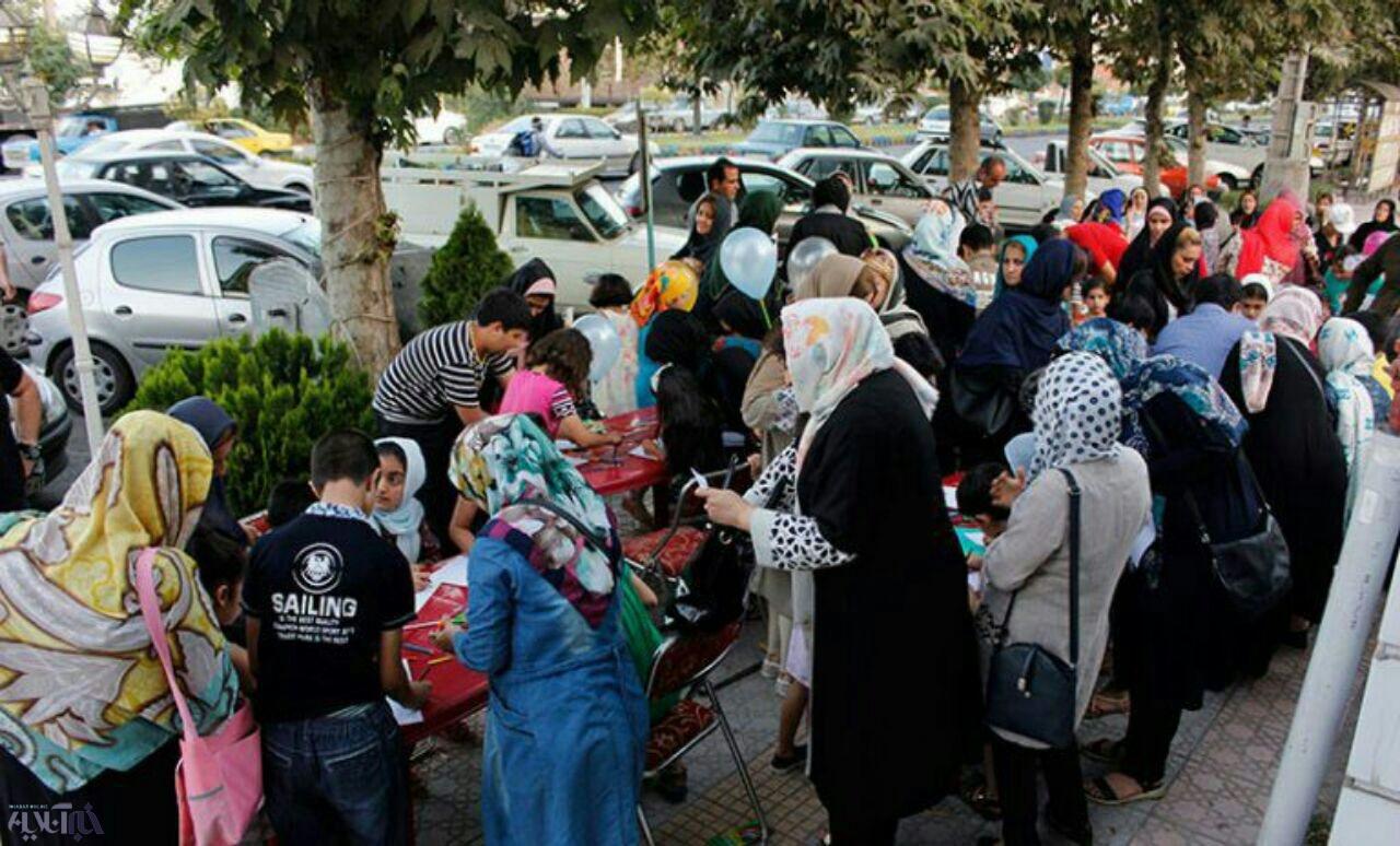 مسابقه نقاشی خیابانی فیوره