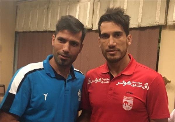 آشتی بازیکنانی که همین چند ساعت پیش با هم درگیر شدند!