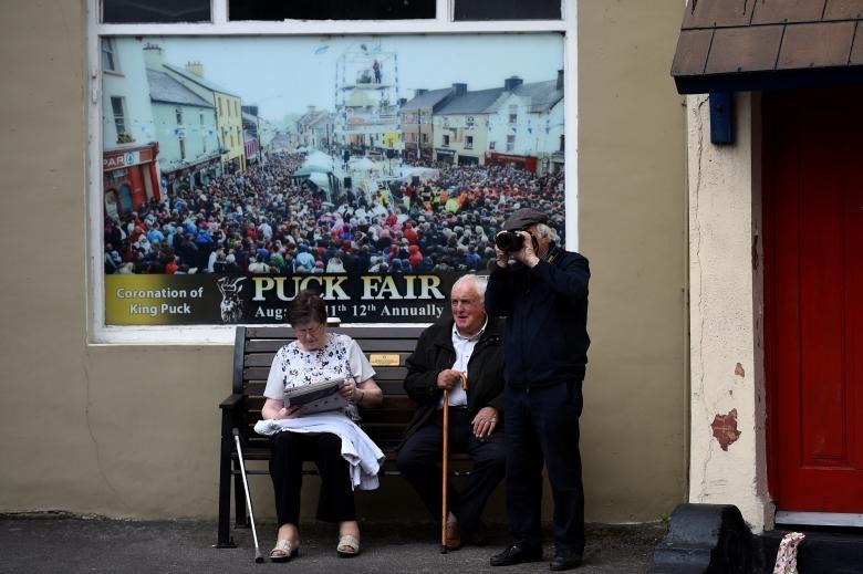 تصاویر   مراسم تاجگذاری یک بز وحشی در ایرلند!