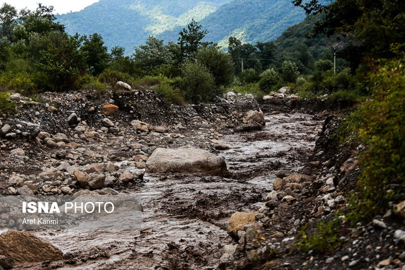 تصاویر | خسارات سیلاب در استان گلستان با ۲ کشته و ۲ مفقود