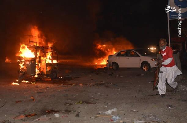 تصاویر | انفجار خونین تروریستی در کویته