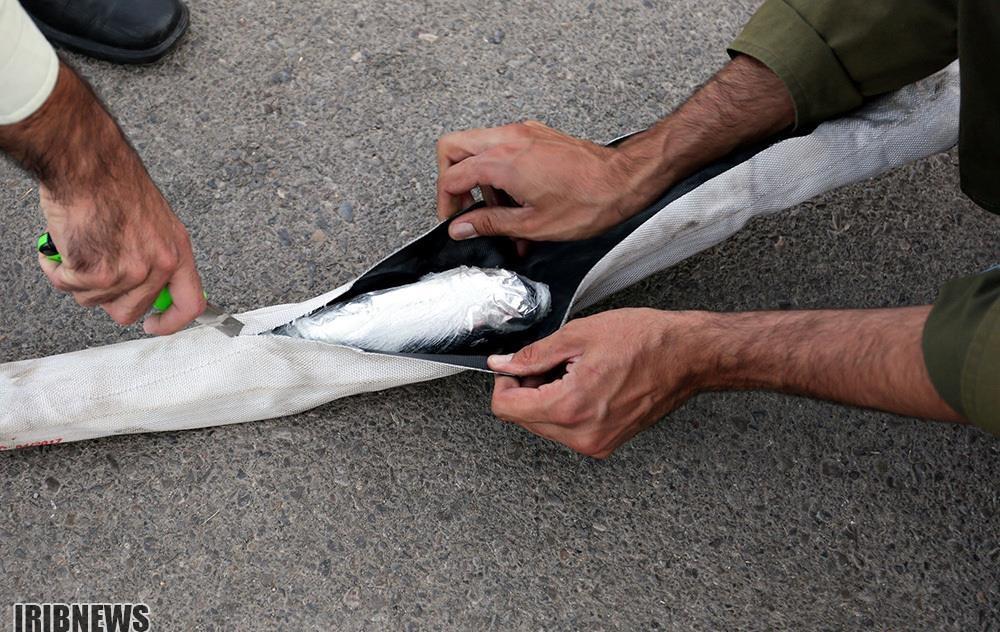 تصاویر | کشف ۳۶۳ کیلو تریاک از تریلی در مشهد