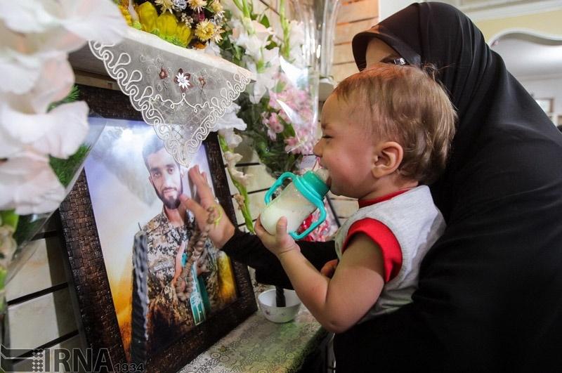 تصاویر | حال و هوای منزل پدر شهید حججی