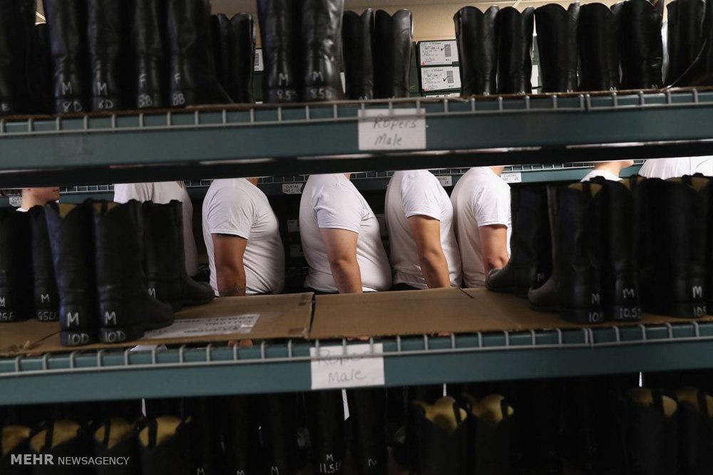 تصاویر | مرزبانان آمریکا اینگونه آموزش میبینند