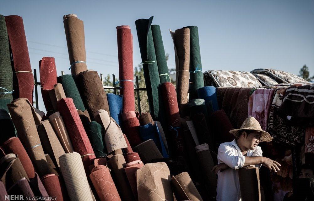 تصاویر | شلوغبازار افغانستانیها در حاشیه مشهد