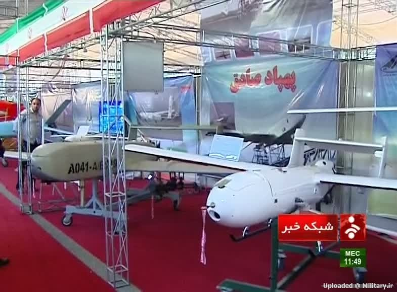 مشخصات فنی پهپاد ایران که آمریکاییها میگویند به ۳۰ متری جنگنده اف-۱۸ رفت