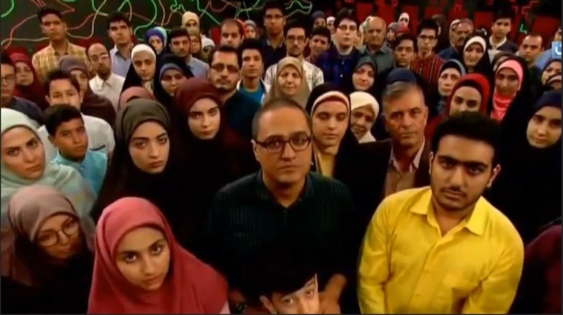 فیلم   ادای احترام رامبد جوان و تماشاچیان خندوانه به شهید حججی