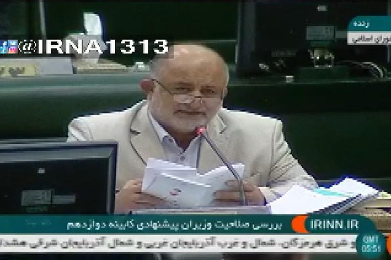 فیلم   پاسخ لاریجانی به درخواست قاضیپور برای انتخاب وزیر آذری