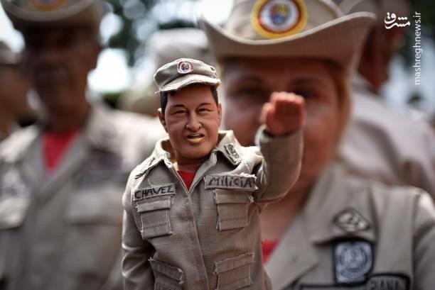 تصاویر   خشم مردم ونزوئلا از تهدیدات ترامپ