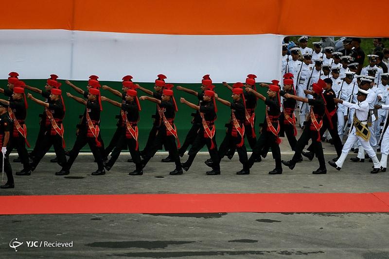 تصاویر   جشن و شادی هندیها؛ ۷۰ سال بعد از استقلال