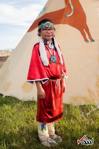 تصاویر | جشنواره قبیلهای که هر سال در آمریکا برگزار میشود