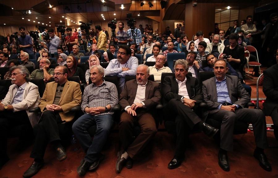 تصاویر   مراسم بزرگداشت مجید انتظامی با حضور هنرمندان