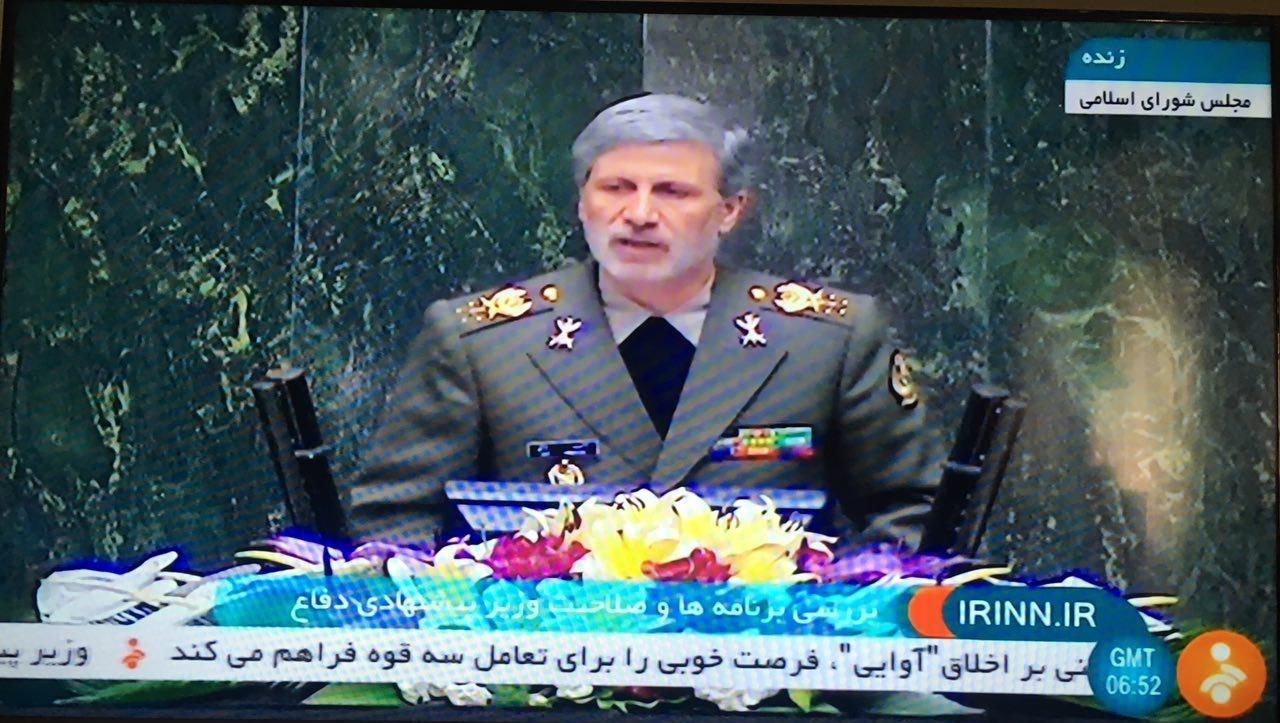ذکر خیر وزیر پیشنهادی دفاع از قاسم سلیمانی/ جنایتکاران پاسخ قاطع نیروهای مسلح را دریافت میکنند