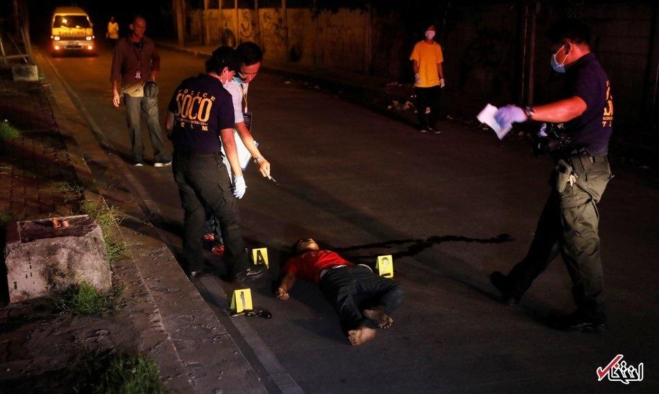 تصاویر | جنگ خیابانی پلیس و قاچاقچیان فیلیپینی با ۵۸ کشته
