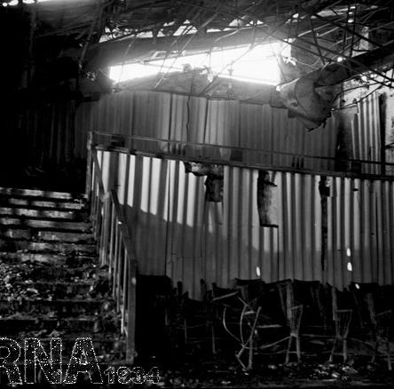 تصاویر   وقتی آتش به جان سینما رکس آبادان افتاد