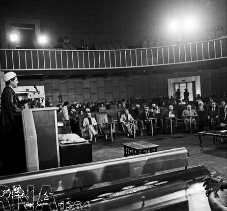 تصاویر | ۳۸ سال پیش؛ نخستین جلسه خبرگان قانون اساسی