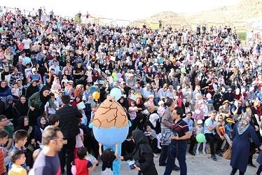 استقبال مردم زنجان از جشن حامیان انرژی