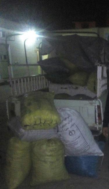 کشف و ضبط 180 کیلو گرم زغال غیر مجاز بلوط در شهرستان دورود