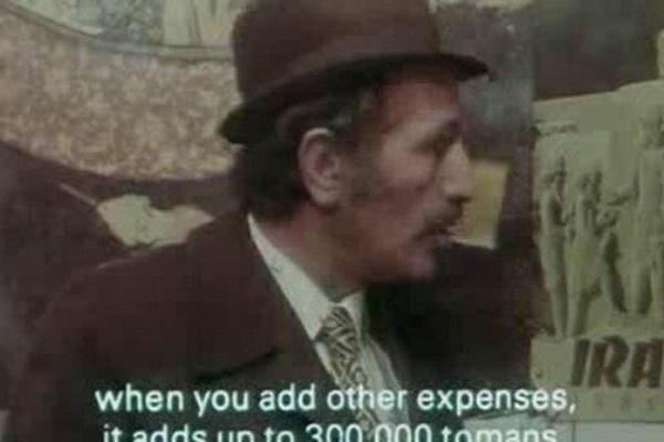 فیلم   تعرفه واردات خودرو سال ۵۶ در سکانسی جالب از یک فیلم قدیمی
