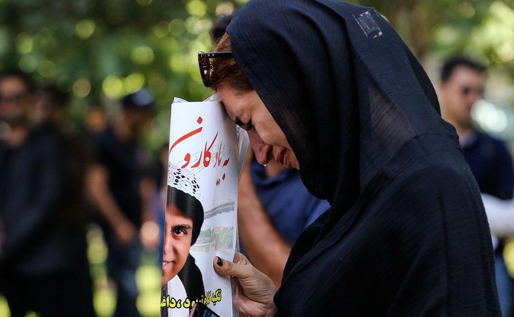 تصاویر | مراسم تشییع پیکر مرحوم محمود جهان