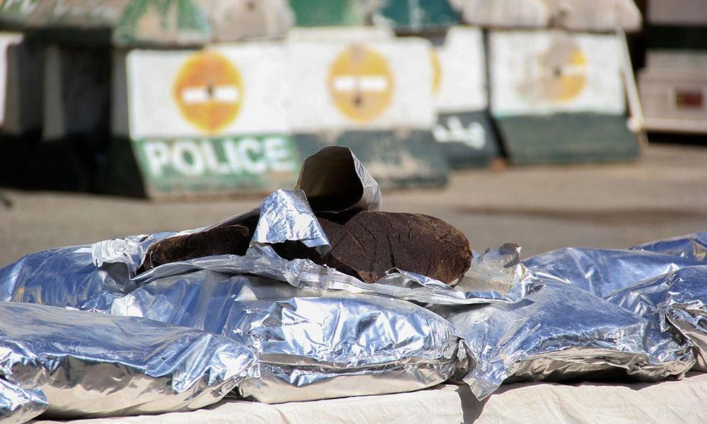 تصاویر | کشفیات موادمخدر در محور تردد قاچاقچیان و ترانزیت مواد کشور
